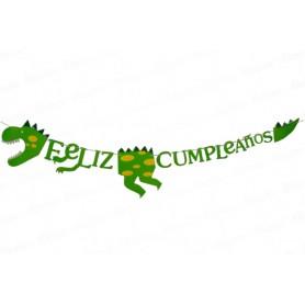 Vaso Pitillo Dinosaurio