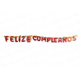 Letrero Feliz Cumpleaños Bigote CyM