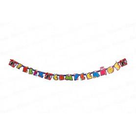 Letrero Feliz Cumpleaños LadyBug