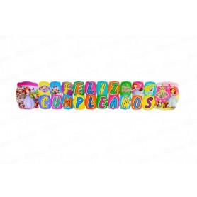 Letrero Grande Feliz Cumpleaños Princesa Sofía