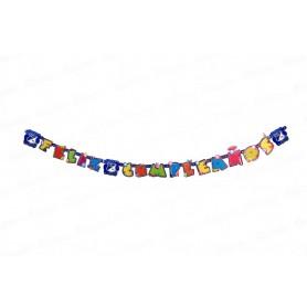 Letrero Feliz Cumpleaños Millonarios