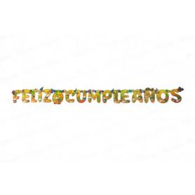 Letrero Feliz Cumpleaños CyM Mexicano