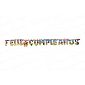 Letrero Vaquero Feliz Cumpleaños CyM