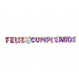 Letrero Feliz Cumpleaños CyM Barcelona