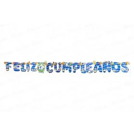 Letrero Feliz Cumpleaños CyM Millonarios
