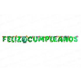 Letrero Feliz Cumpleaños CyM Cali