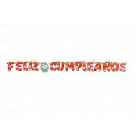 Letrero Feliz Cumpleaños CyM América