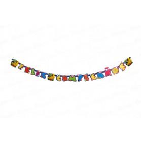 Letrero Feliz Cumpleaños Minions