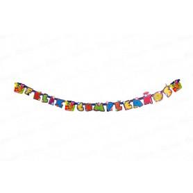 Letrero Feliz Cumpleaños Pocoyo Party