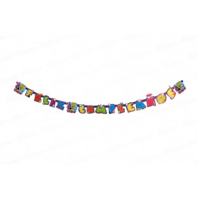 Letrero Feliz Cumpleaños Campanita Party