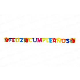 Letrero Feliz Cumpleaños Elmo Party