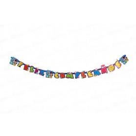Letrero Feliz Cumpleaños Toy Story Party