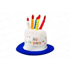 Gorro Feliz Cumpleaños Velas