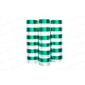 Serpentina Verde y Blanco Paquete x3