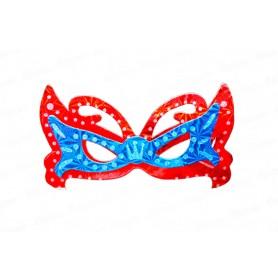 Antifaz Holográfico Mariposa Paquete x6