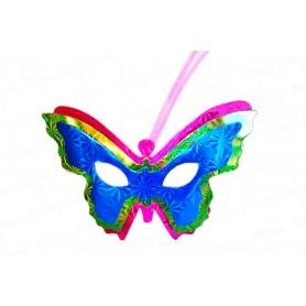 Antifaz  Mariposa con Antenas Paquete x6