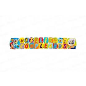 Letrero Grande Feliz Cumpleaños Toy Story