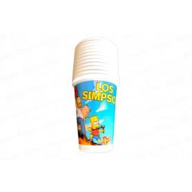 Vaso Los Simpson Paquete x12