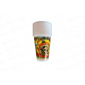 Vaso Mexicano Paquete x12 Festilandia