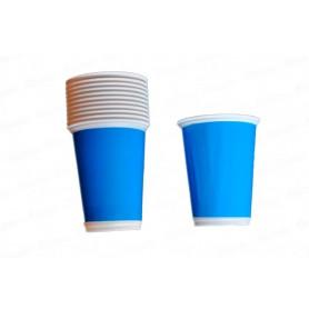 Vaso Azul  Fondo Entero x12