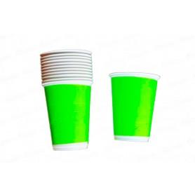 Vaso Verde Neón x12