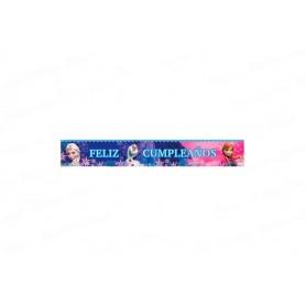 Cartel Metalizado Sempertex Frozen x2 unidades