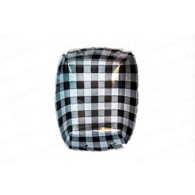 Tortera Picnic Negra Paquete x 12