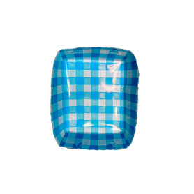 Tortera Picnic Azul Paquete x 12
