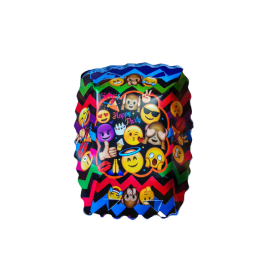 Tortera Emoticones Paquete x12 Surtifiesta