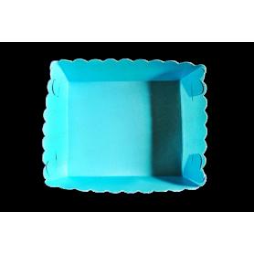 Tortera Azul Celeste Paquete x12