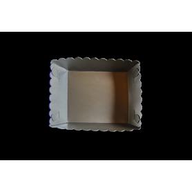 Tortera Plateado Paquete x12