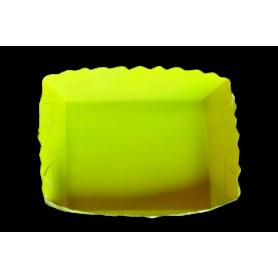 Tortera Amarillo Neón Paquete x12