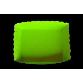 Tortera Verde Neón Paquete x12