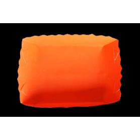 Tortera Neón Naranja Paquete x12