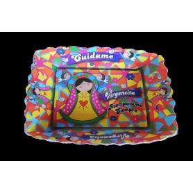 Tortera Virgen de Guadalupe Paquete x12