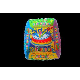 Tortera Feliz Cumpleaños Paquete x12