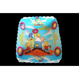 Tortera Los Simpson Paquete x12