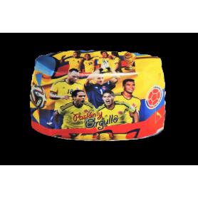 Tortera Selección Colombia Fútbol Paquete x12