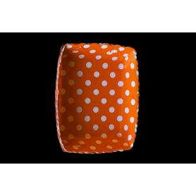 Tortera Polka Naranja Paquete x12