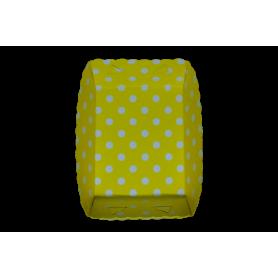 Tortera Polka Amarillo Paquete x12