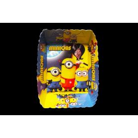 Tortera Minions Paquete x12