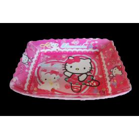 Tortera Hello Kitty Paquete x12