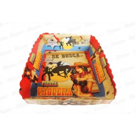 Tortera Vaquero Paquete x12