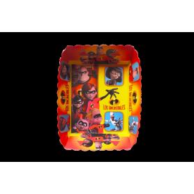 Tortera Los Increíbles Paquete x12
