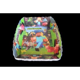 Tortera Minecraft Paquete x12