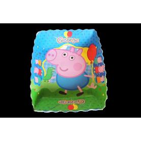 Tortera Peppa Pig George Paquete x12