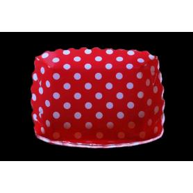 Tortera Polka Roja Paquete x12