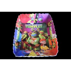 Tortera Tortugas Ninja Paquete x12