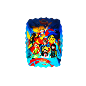 Tortera SuperHéroes Chicas Paquete x12