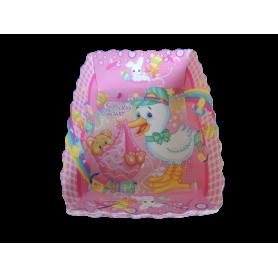 Tortera Baby Shower Niña Paquete x12